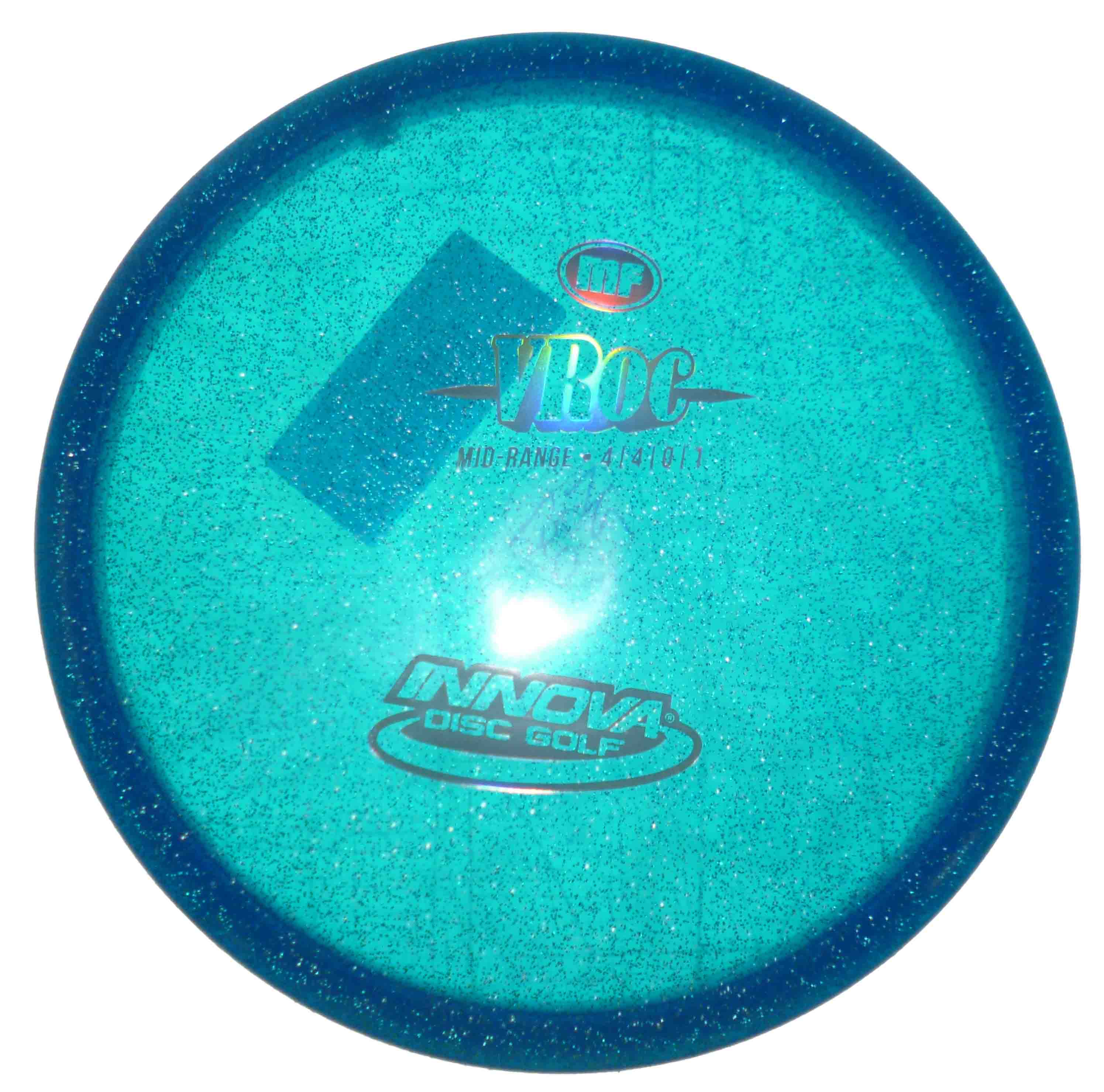V Roc Metal Flakes Blue